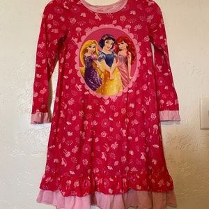 Bundle-Disney pj gown 10, Disney sweatshirt large